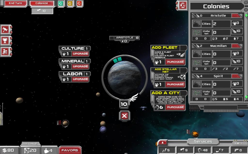 Colony Upgrades